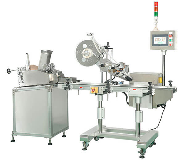 CY-1000 Automatic Top Labeling Machine
