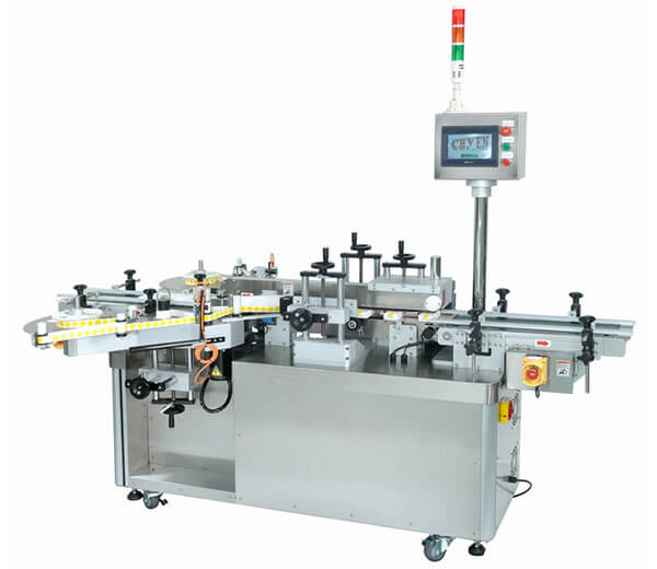 CY-1300 Automatic Top & Bottom Seal Labeling Machine